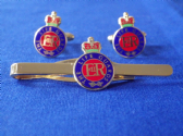 LIFE GUARDS CUFF LINK AND TIE GRIP / CLIP SET